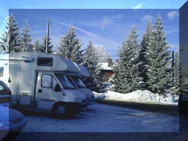 Chauffer Son Camping Car En Hiver